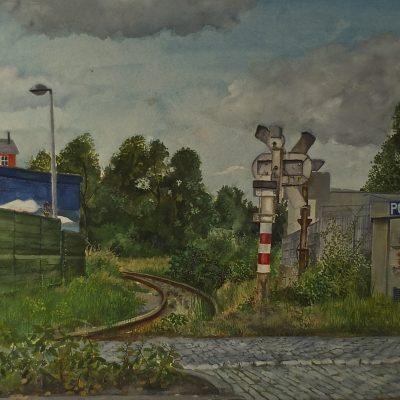 Antwerp railway line